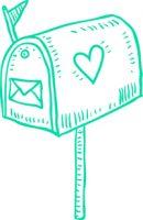 mailbox-turkiz